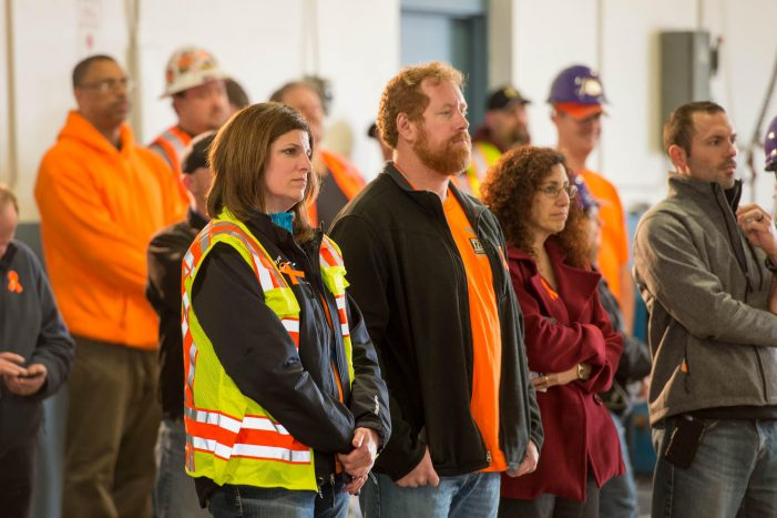 Slow down in work areas … there are people behind those orange barrels