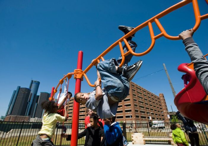 Promoting Play: Why neighborhood playgrounds are an oasis and a necessity