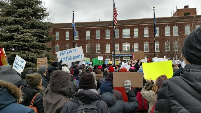 Detroit organizations come together to share concerns about Muslim Ban