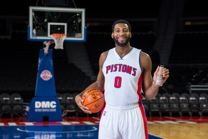 Pistons star Andre Drummond joins dairy campaign