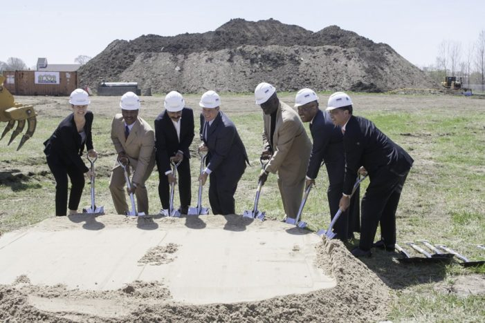 Mayor, Flex-N-Gate break ground on nearly $100M Detroit manufacturing facility