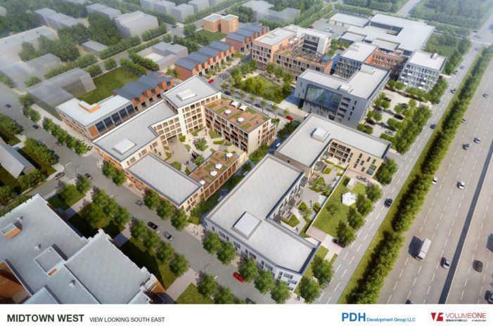 $77M plan for vacant Wigle site to create 335  residential units, retail, open space