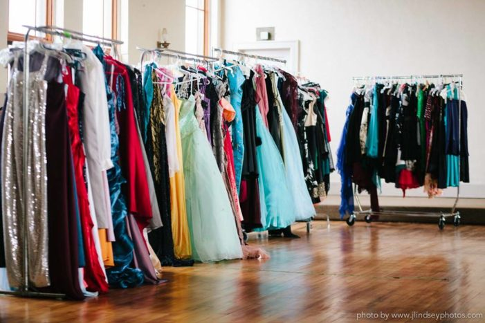 Sequins, dreams unfold April 8 with free prom dresses