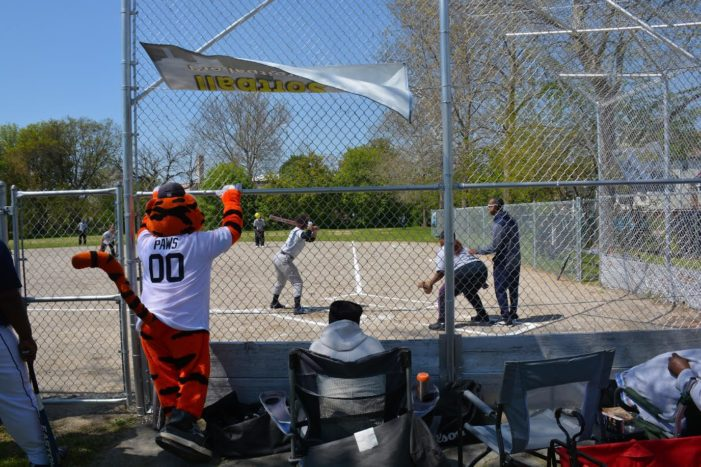 Comerica, Detroit Police Athletic League play a special game of baseball for kids