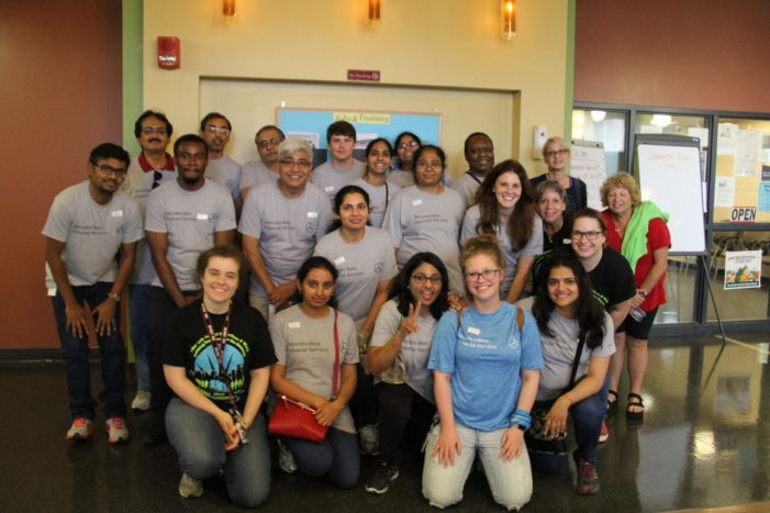600 Mercedes-Benz Financial volunteers spend a week working at 12 Detroit nonprofits