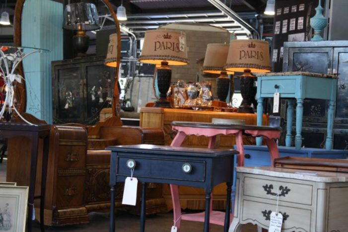 Pick up everything from vintage to handmade at Shed 5 Flea in Eastern Market