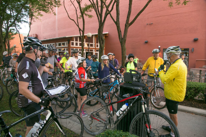 Riders will celebrate and cycle historic Jewish sites in Detroit on August 20