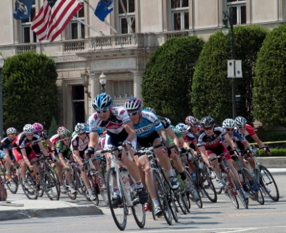 DAC hosts two-wheeled tour de force
