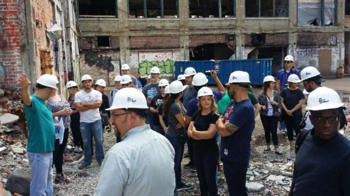 Peek inside the Packard Plant on guided tours