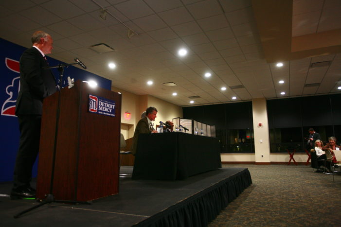 Detroit Mercy discusses role in renewal on eve of $100 million campaign announcement