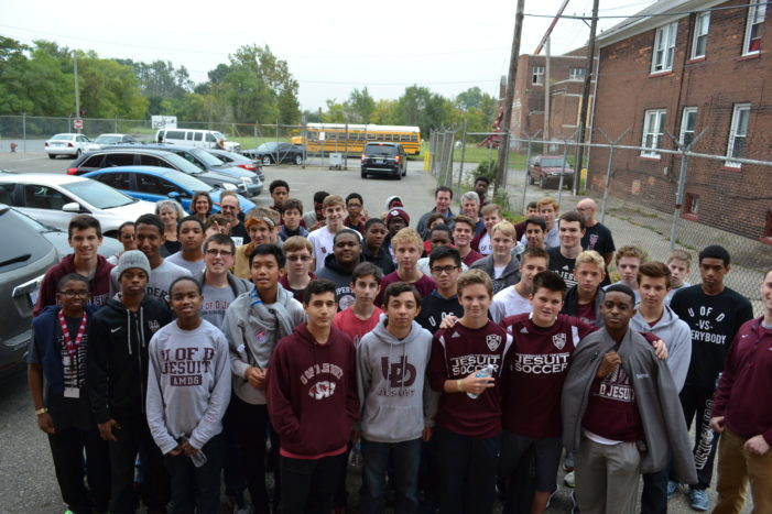 918 U of D Jesuit students align behind Detroit's neighborhoods and each other