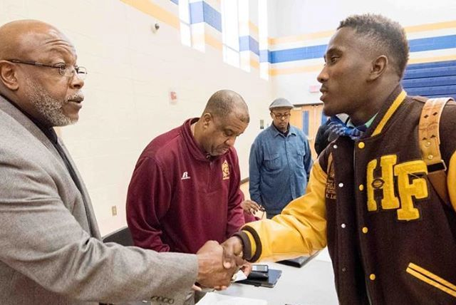 Conference pairs Detroit high school athletes with college recruiters