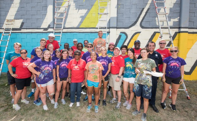 Detroit booster DTE Energy expands its volunteer efforts to create a Month of Caring
