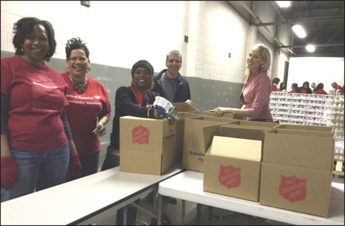 Bank of America, Salvation Army provide 10,000 holiday meals for those in need