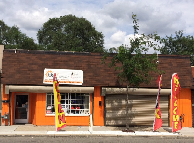 Orange is the new bright at west side boutique