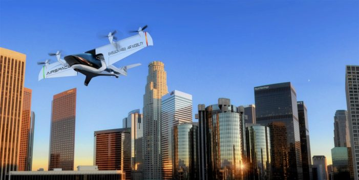 Detroit's AirSpaceX has answer to gridlock – a flying taxi