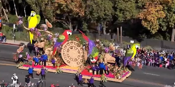 Detroiter and organ donor Angela Griggs honored on 'The Gift of Time' float at Tournament of Roses Parade