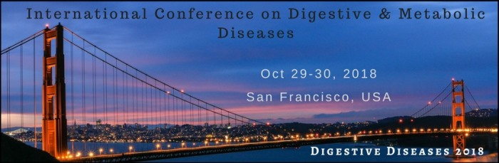 4th world congress on Digestive and Metabolic Diseases 2018