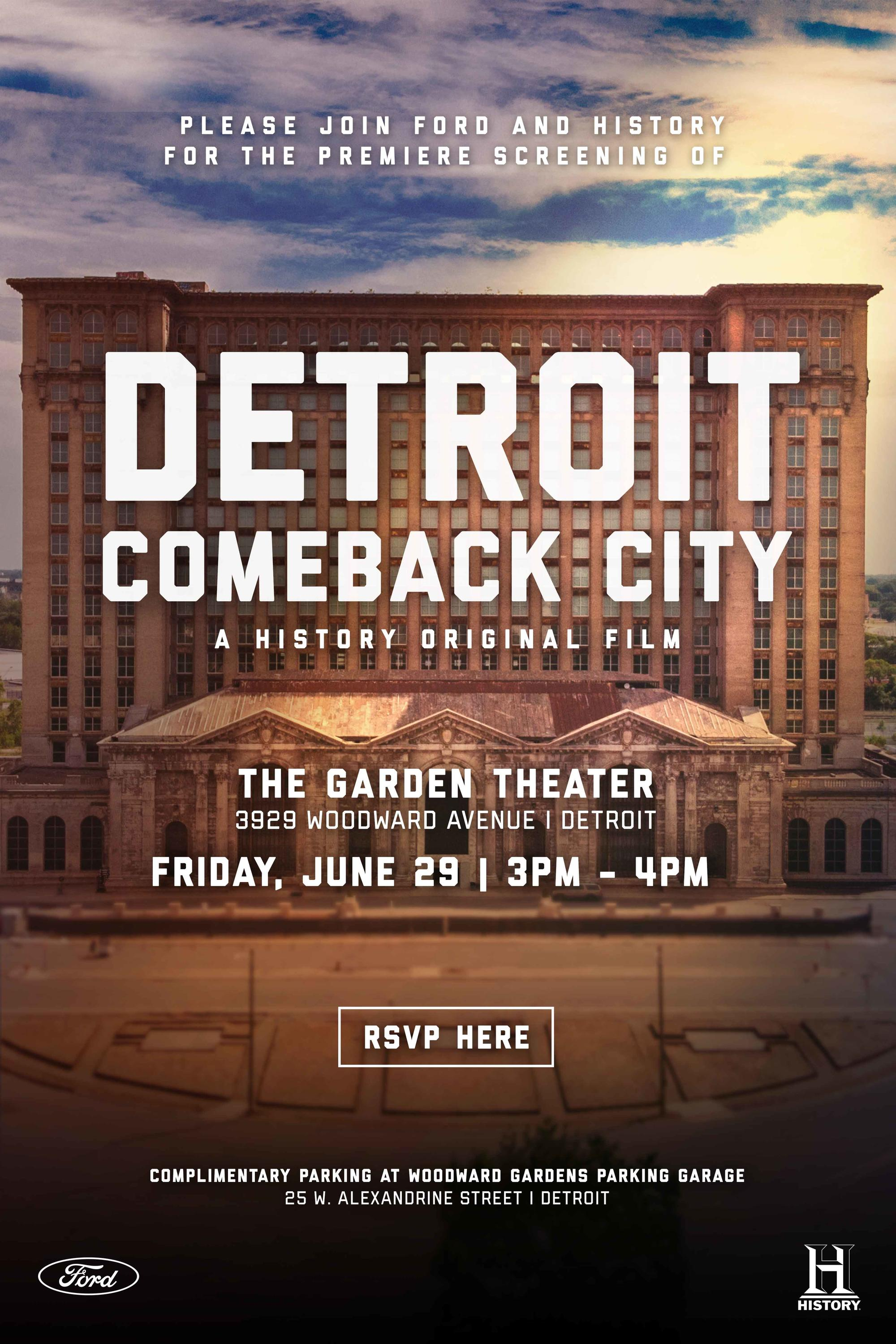 Exclusive screening of \'Detroit: Comeback City\' June 29 - The Hub ...