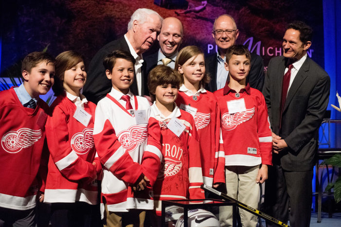 Gordie Howe, Slow Roll founders honored at Governor's Fitness Awards
