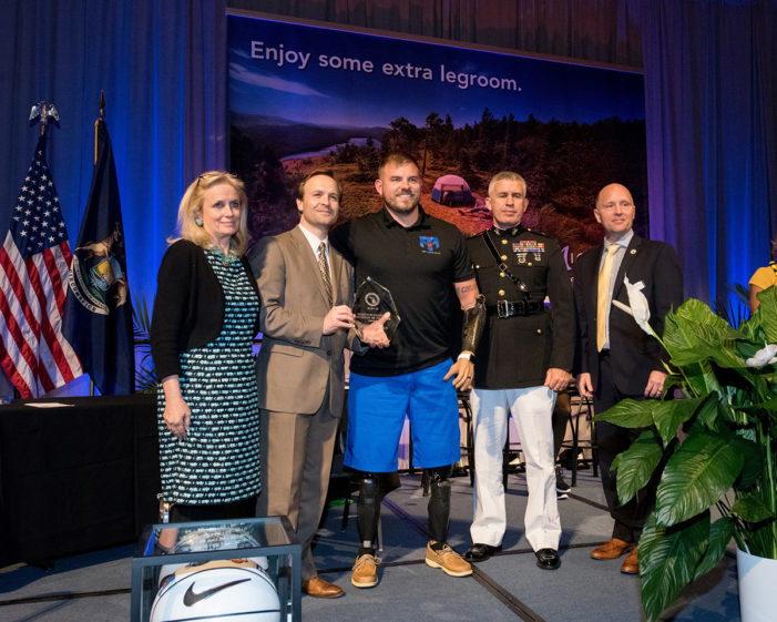 Governor's Fitness Awards honor local veterans