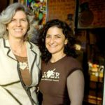 Ann Perrault with business partner Jackie Victor. Photo courtesy Avalon Bread