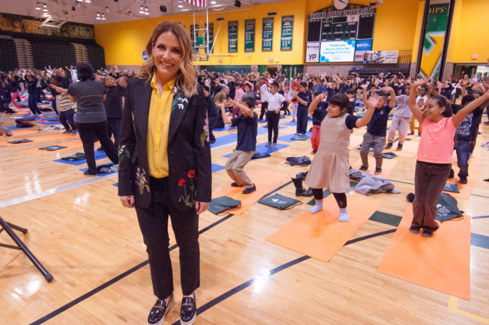 Danialle Karmanos' yoga program teaches kids to work it out peacefully, make healthy choices