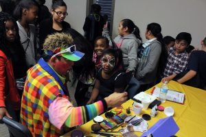 Face painting, #1133