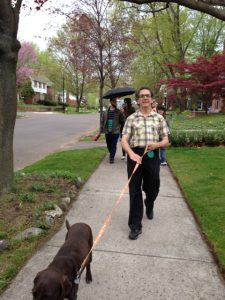 Mark Loeb helped introduce Jane's Walk to Detroit four years ago. He and his wife Vickie Elmer are staunch advocates of urban planner Jane Jacobs.
