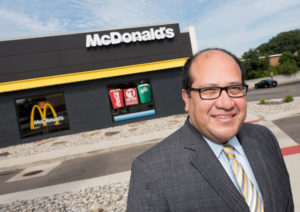 McDonald's Michigan Region Vice President and General Manager Marcos Quesada got his first job with the company at age 16.