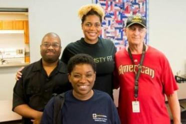 Homeless & hungry vets welcome Healthy Piquette program