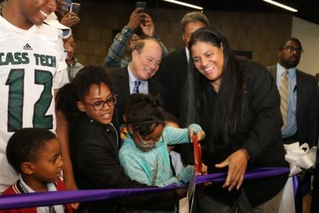 Newly renovated Tindal Rec Center opens