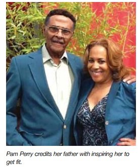 Feeling Fab: Dad's Checkup sparks new lifestyle for Pam Perry