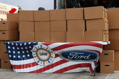 Tradition of giving: UAW-Ford and automaker continue to give back