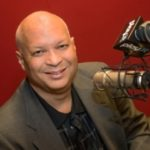 CBS Radio personality Mark Lee at CBS Radio in Southfield, Michigan.