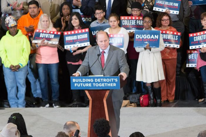 Duggan announces plans to run for second term as Mayor