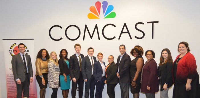 City Year Detroit members sharpen job-search skills through Comcast Career Day