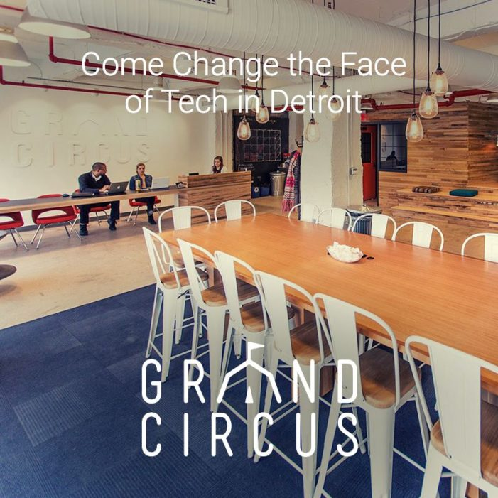 Detroit at Work Partners with Grand Circus to Launch 'TechHire Bootcamp'