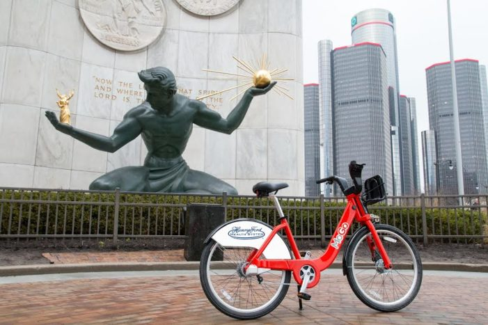 Detroit Bike Share brings MoGo to the city to expand neighborhood transportation options