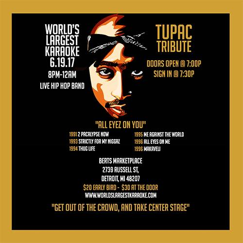 Detroit fans can pay tribute to iconic rapper Tupac Shakur