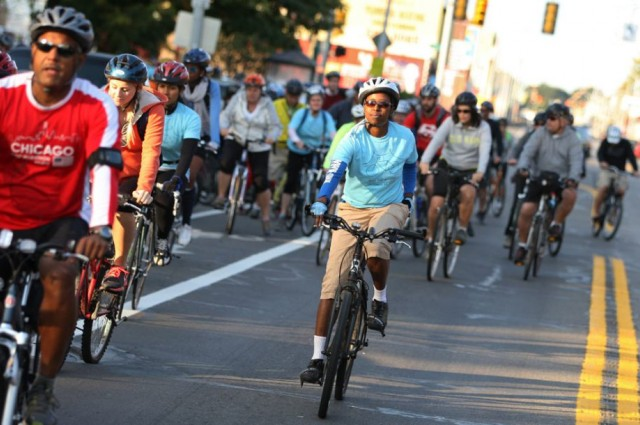 For a spectacular view of Detroit, Windsor Bike the Bridge October 22