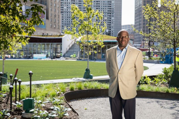 Building Trajectory:  Detroit-based company celebrates opening of DTE Energy's Beacon Park