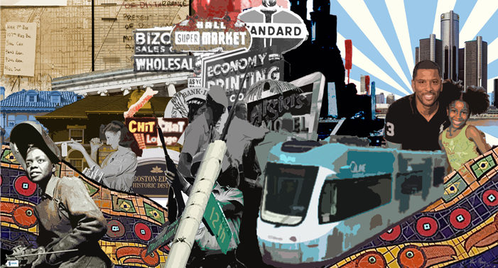 Muralist says artwork will symbolize former 12th Street's ongoing recovery