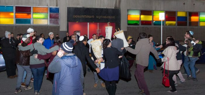 There will be dancin' in the streets around Detroit's Downtown Synagogue Oct. 12