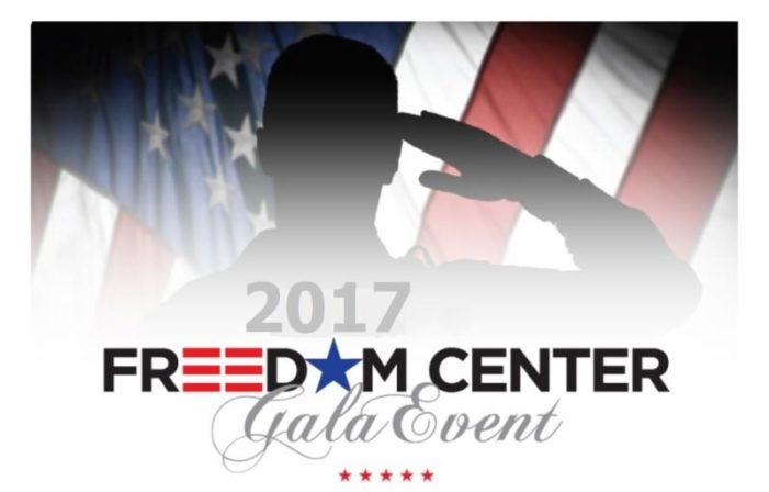 Freedom Centers' Oct. 12 benefit helps those who protect us, our military