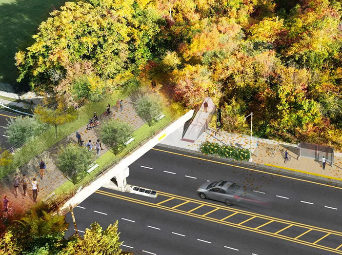26-mile Joe Louis Greenway will connect neighborhoodsto riverfront, Dequindre Cut