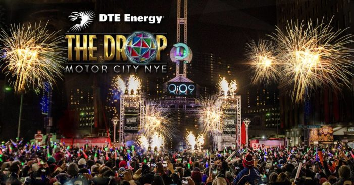 Welcome in 2018 at 'The Drop' in Beacon Park