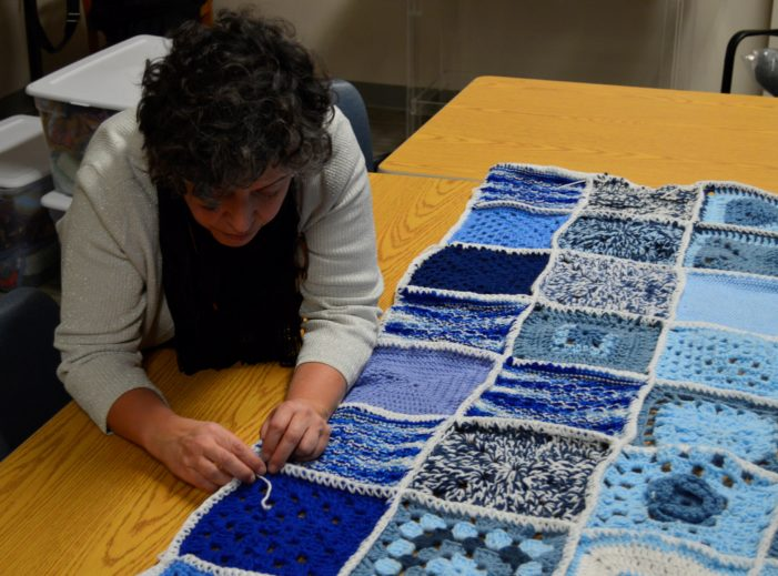 Southwest Solutions' Stitches of Love creates blankets for families in need, knits together the community