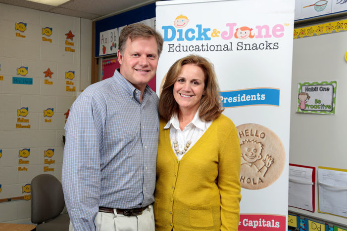 Dick and Jane's snacks help kids learn one bite at a time