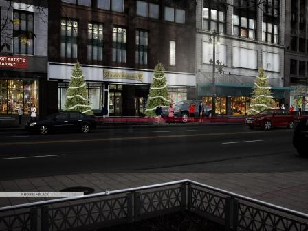 Free street parking downtown through Christmas